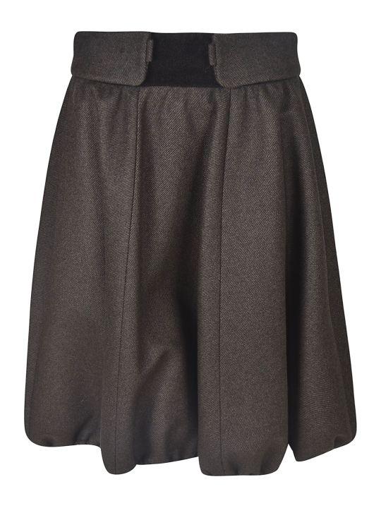 Nina Ricci Mid-length Ruffled Detail Skirt