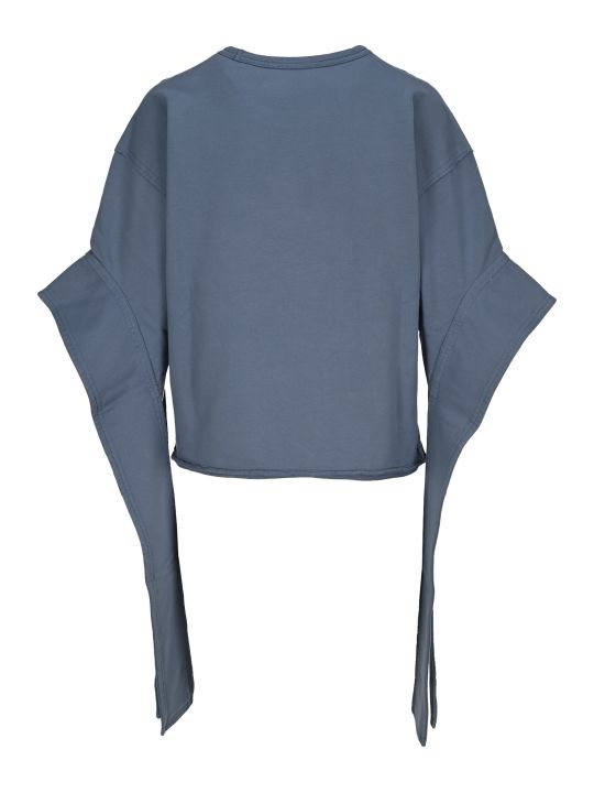 J.W. Anderson Jw Anderson Anchor Elongated Sleeves Sweatshirt