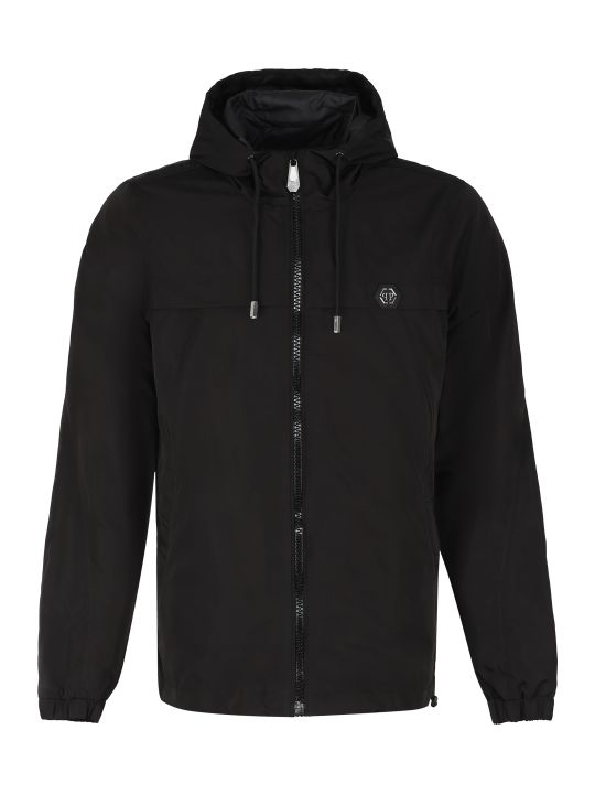Philipp Plein Hooded Windbreaker