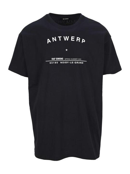Raf Simons Antwerp Tour Print T-shirt