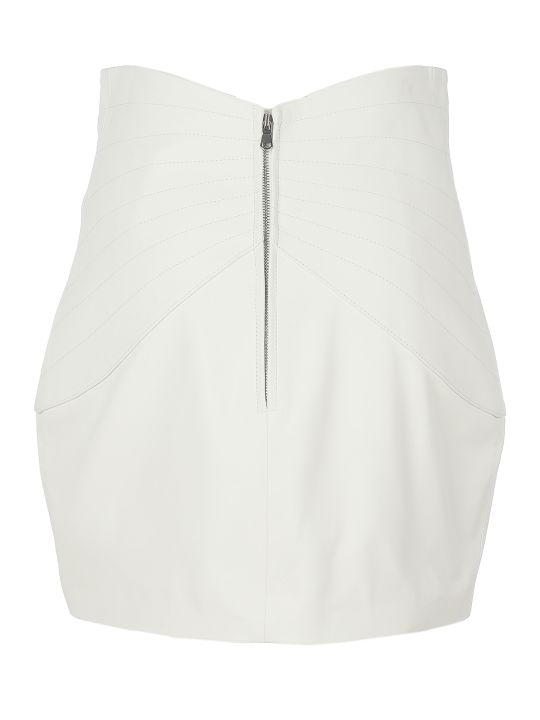 The Attico Mini Nappa Skirt