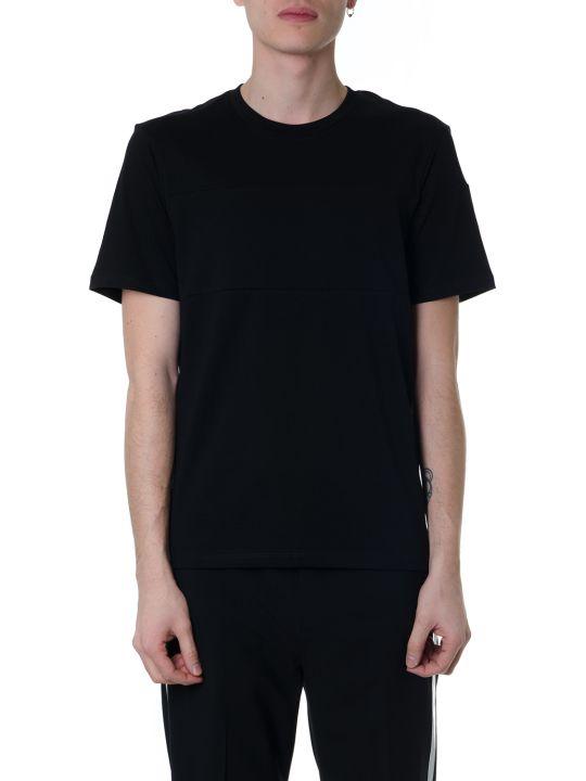Helmut Lang Black Cotton T-shirt With Helmut Lang Written