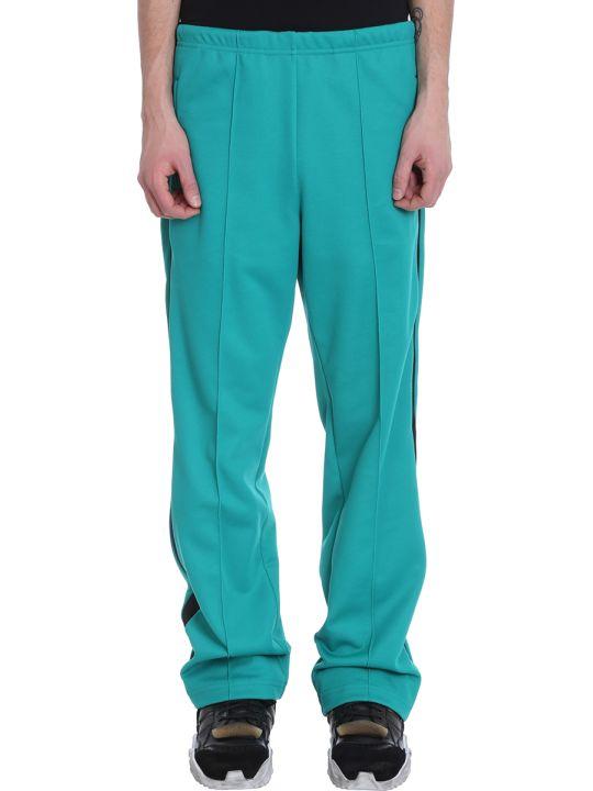 Maison Margiela Green Polyester Pants