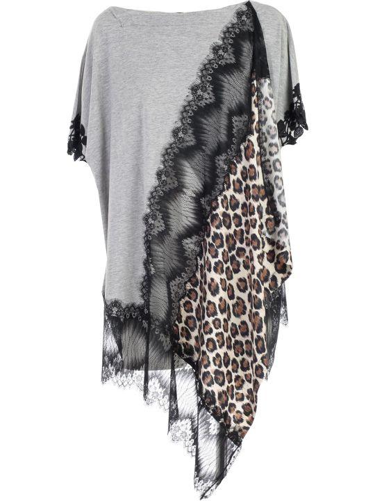 Antonio Marras Leopard Print Oversized T-shirt