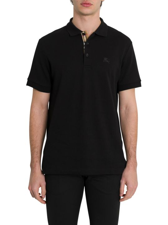 Burberry Contrast Collar Polo Shirt
