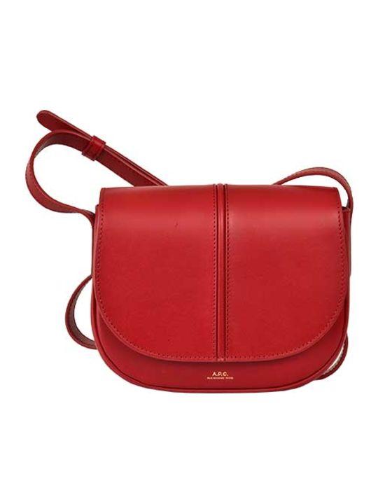A.P.C. Flap Shoulder Bag