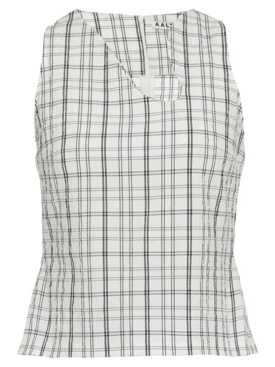 AALTO Check Patterned Top