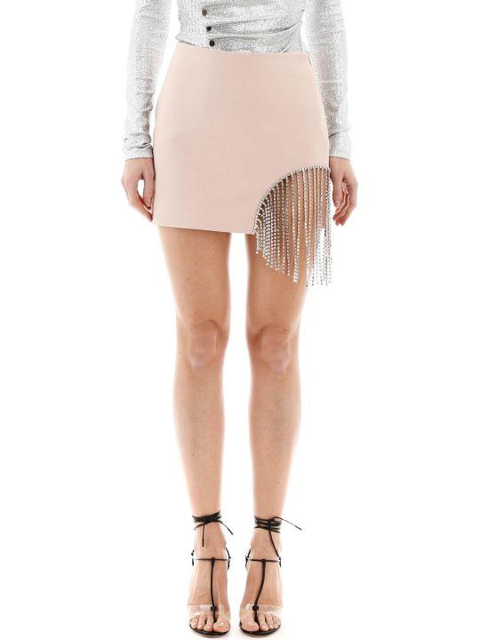 AREA Crystal Mini Skirt