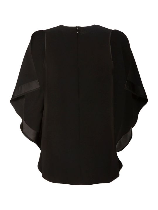 Victoria Victoria Beckham Draped Sleeve Top