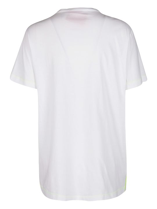 Iceberg White Cotton T-shirt
