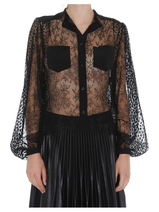 Givenchy Chantilly Lace Shirt