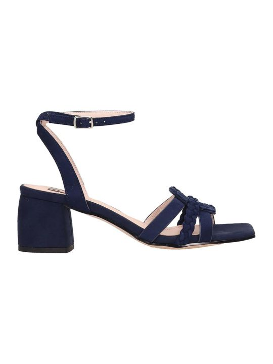 Bibi Lou Blue Suede Sandals