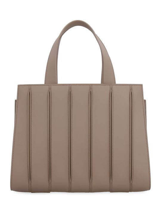 Max Mara Whitney Leather Handbag