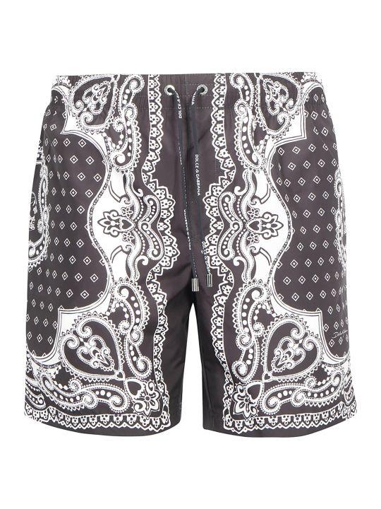 Dolce & Gabbana Boxer Swimsuit