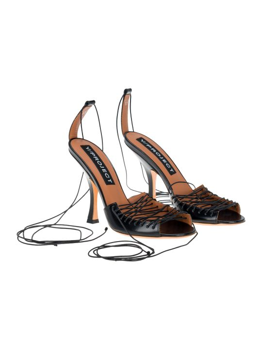 Y/Project Lace-up Sandals