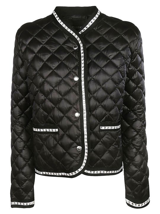 Ermanno Scervino Quilted Effect Jacket