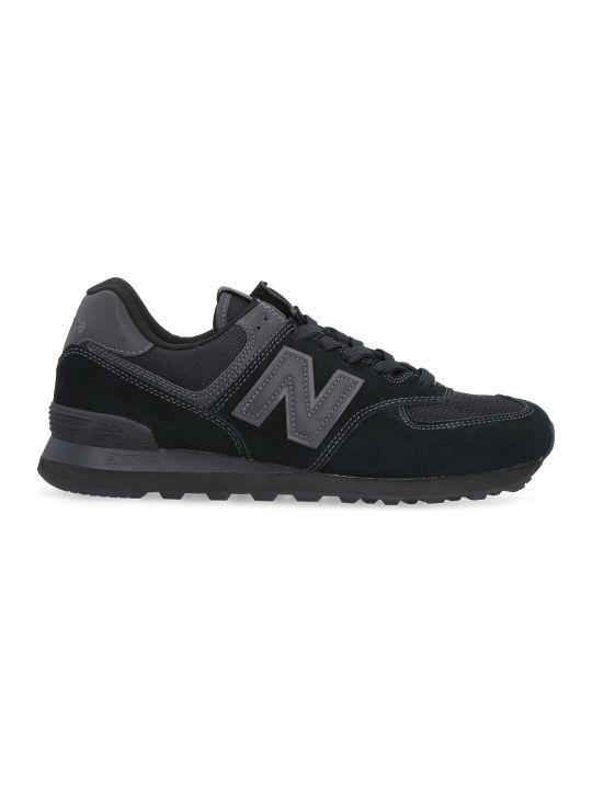 New Balance 574 Suede And Mesh Sneakers
