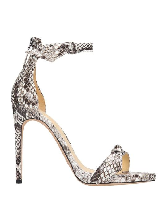 Alexandre Birman Clarita Sandals In Animalier Leather