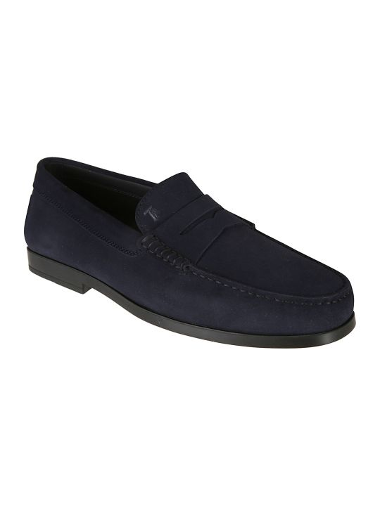 Tod's Logo Plaque Loafers