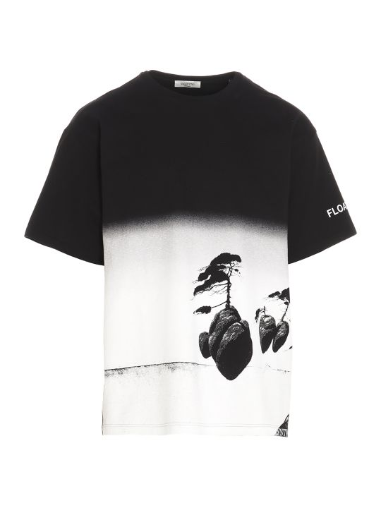 Valentino 'floating Island' T-shirt