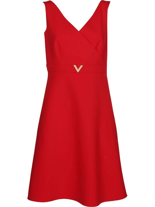 Valentino V Detail Dress