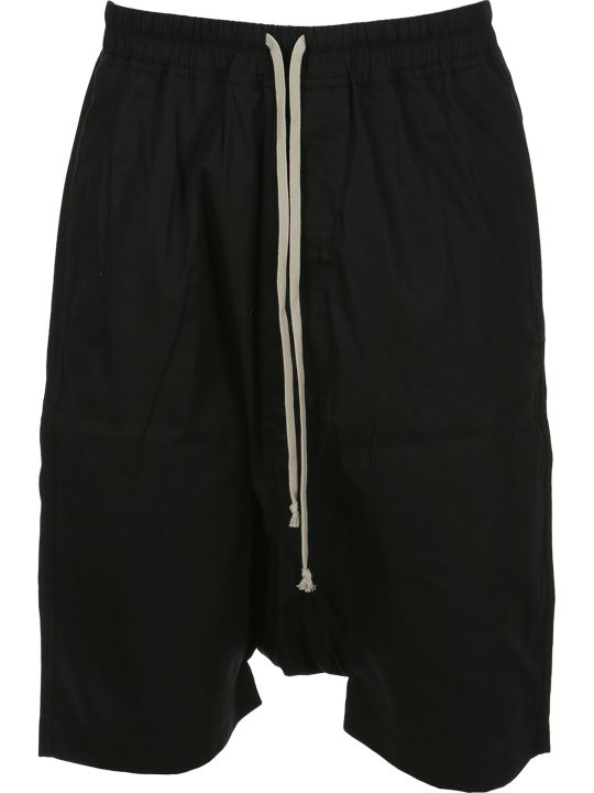 DRKSHDW Dark Shadow Drop-crotch Track Shorts