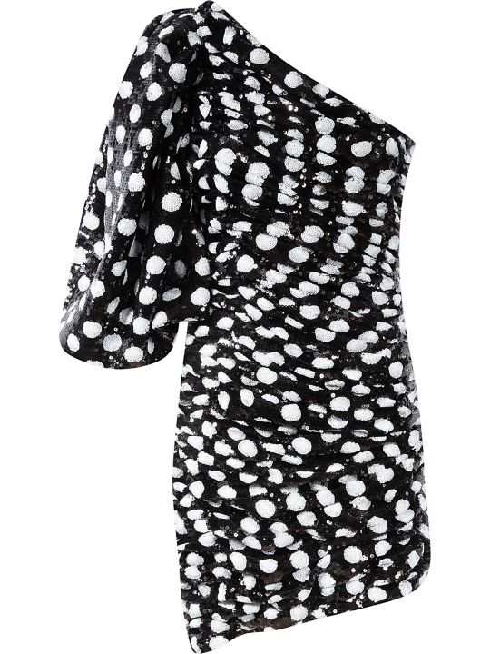 Giuseppe di Morabito One-sleeve Dotted Print Dress