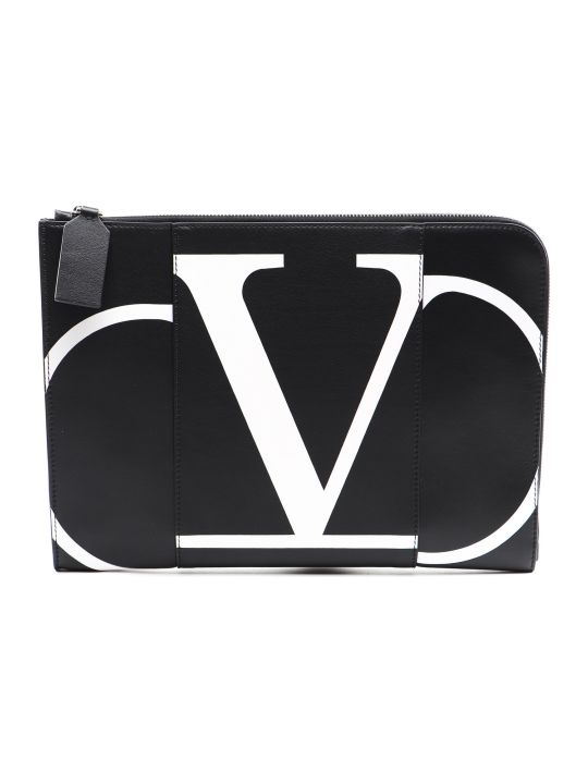 Valentino Garavani Document Case V Logo