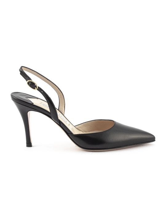 Roberto Festa Gravitas Pump In Black Leather