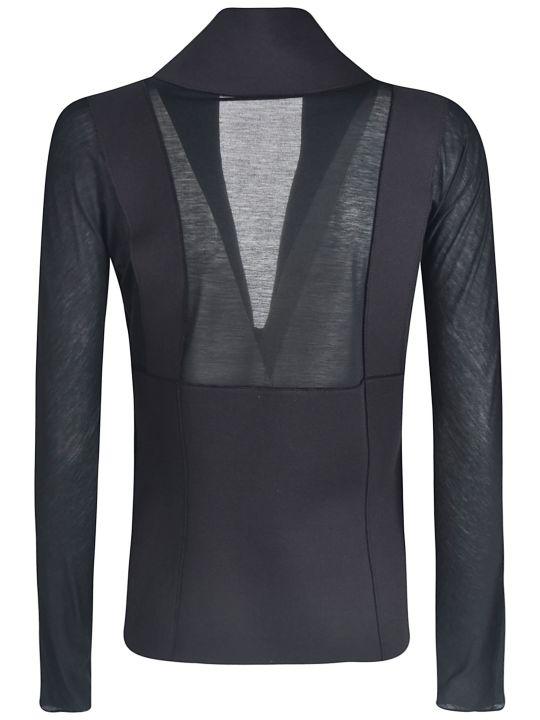 Giorgio Armani Lace Zipped Blazer