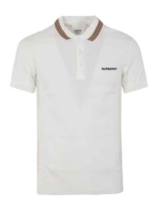 Burberry Embroidered Polo Shirt