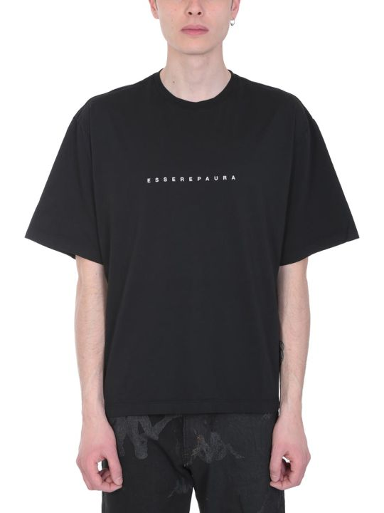 Danilo Paura Black Cotton T-shirt