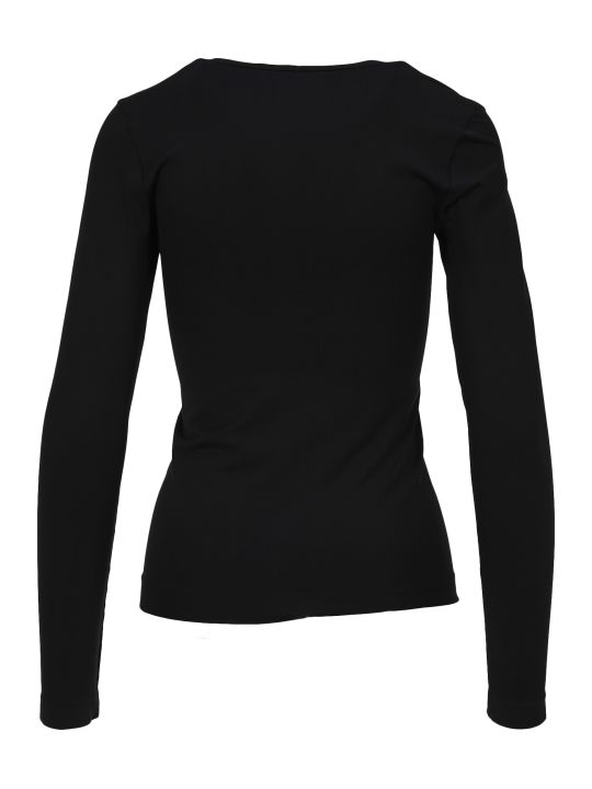 Helmut Lang Seamless Scoop Neck Top