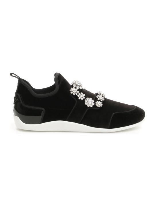 561b2e68d2eb Roger Vivier Sporty Viv Flower Sneakers
