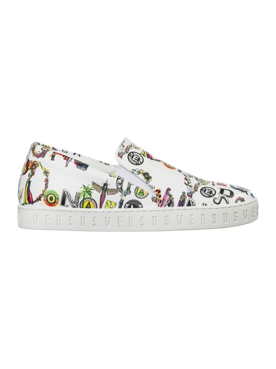 Versus Versace  Shoes Leather Trainers Sneakers