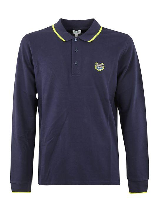Kenzo Longsleeved Polo Shirt