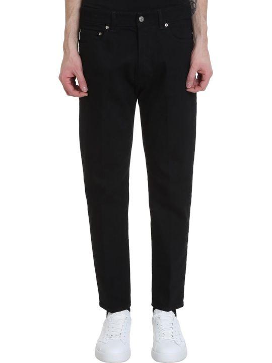 Golden Goose Lit Jeans In Black Denim