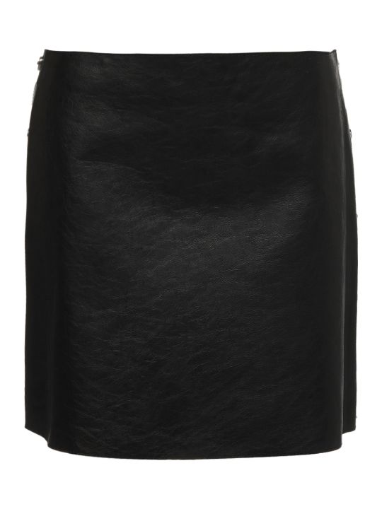 Sonia by Sonia Rykiel Crackled Mini Skirt