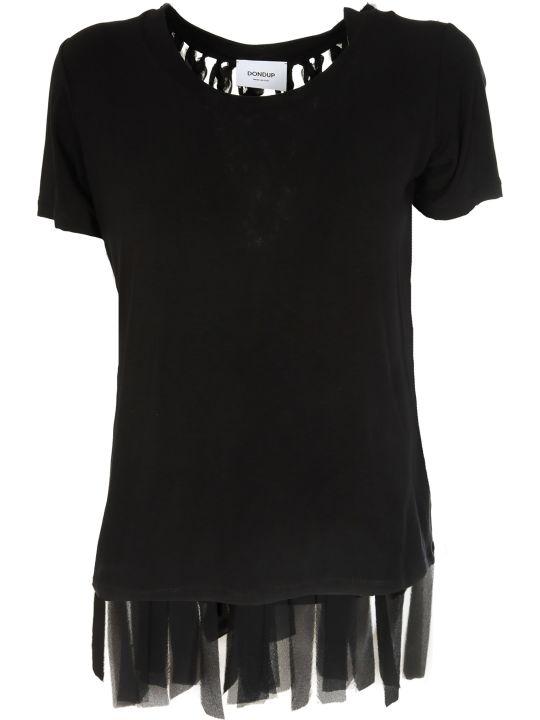 Dondup Fringed T-shirt
