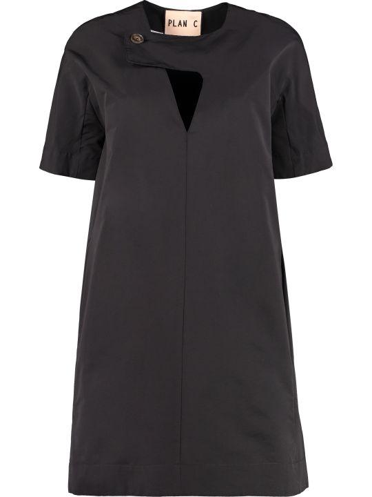 Plan C Cotton-blend Dress