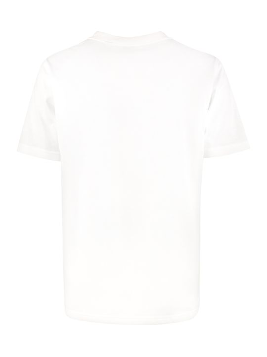 Burberry Logo Print Cotton T-shirt