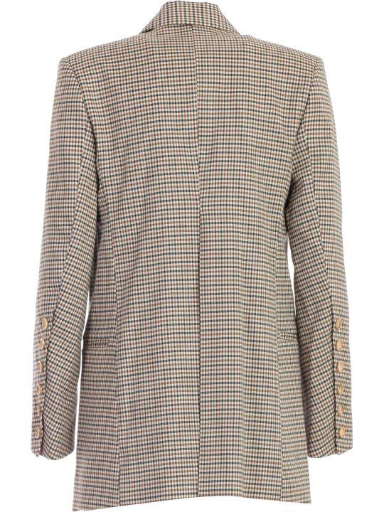 Eudon Choi Beatrice Jacket Check W/slits