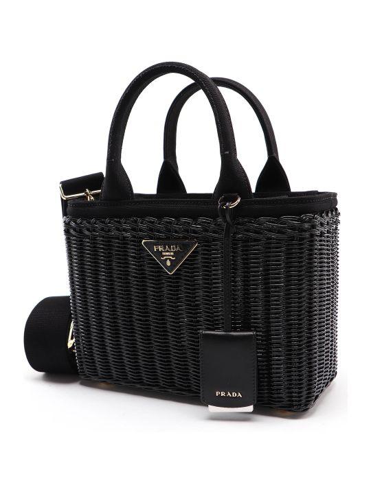 Prada Bag Midollino+canapa