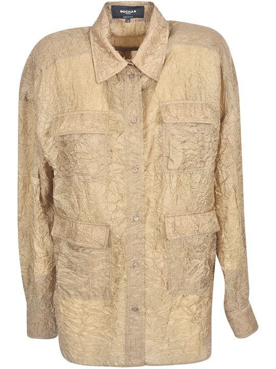 Rochas Wrinkled Oversized Shirt
