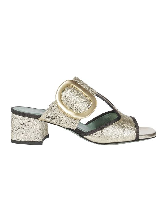 Paola D'Arcano Buckled Sandals