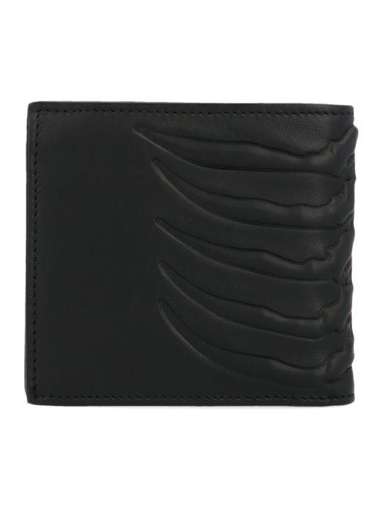 Alexander McQueen 'rib Cage' Wallet