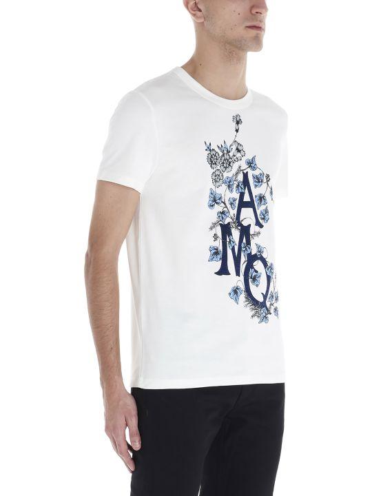 Alexander McQueen 'monogramme Edera' T-shirt