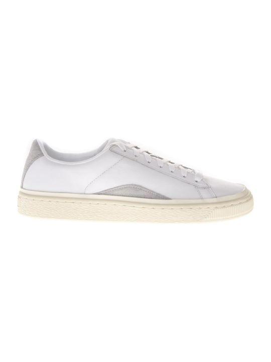 Puma Select White Leather Sneakers X Han Kjøbenhavn