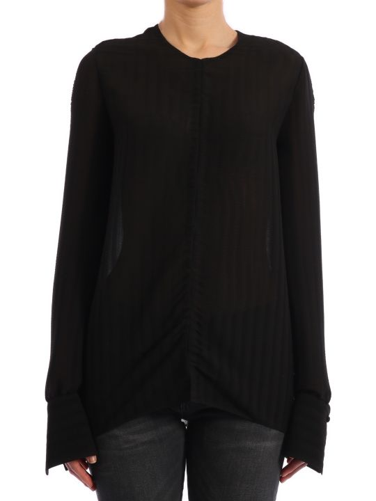 The Row Bruna Blouse In Georgette