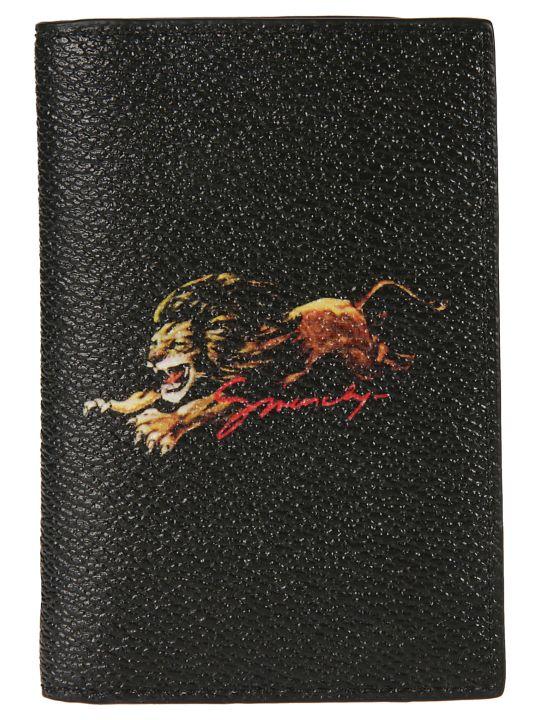 Givenchy Lion Print Cardholder